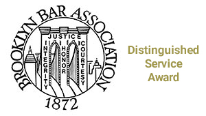 Brooklyn Bar Association Distinguished Service Award Robert Gershon